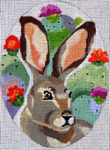 "B343 Melissa Prince 4"" x 5"" Jack Rabbit"