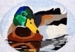 B365 Melissa Prince  5 x4 Oval Mallard Duck