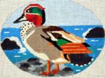 B368 Melissa Prince  5 x 4 Royal Teal Duck