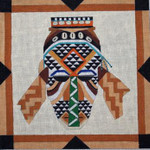 A139 Melissa Prince 11 x 11 African Mask 1