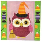 A161 Melissa Prince 5 x 5 Halloween Owl