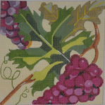 A164 Melissa Prince 5 x 5 Wine Grapes