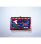 C528 In A One Horse Open Sleigh Santa Rudolph The Princess And Me