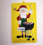 C568 Grillmaster Santa The Princess And Me