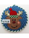 C713 Blue Sky Reindeer The Princess And Me