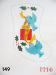 "149 MM Designs Mini Stocking 4"" x 6"" Birds"