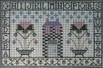 Ewe And Ewe EWE-497 Little Brick House La-D-Da 10 1/4 x 6 3/4  13 Mesh