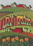 Ewe And Ewe EWE-442 Summer Sunflowers@Mary Beth Baxter 8 1/2 x 11 7/8 18 Mesh
