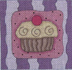Ewe And Ewe EW-1068 Emily 3 3/4 x 3 3/4 18 Mesh With Stitch Guide