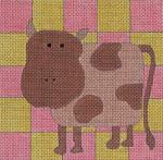 Ewe And Ewe EW-1085 Baby Cow 5 x 5 18 Mesh