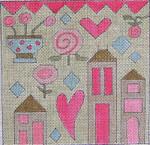 Ewe And Ewe EWE-4 Pinky 5 1/2 x 5 1/2 18 Mesh