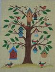 Ewe And Ewe EWE-99 For the Birds@tBeverly Johnston 10 x 13 18M