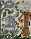 Ewe And Ewe EWE-143 Elizabeth@Caniage House Samplings 6 1/2 x 8 18M