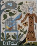 Ewe And Ewe EWE-143A Elizabeth@Caniage House Samplings 8x 9 3/4 13M
