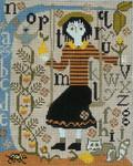 Ewe And Ewe EWE-146 Mary Margaret@arriage House Samplings 8x 9 3/4 13M