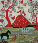 Ewe And Ewe EWE-148 Garden Glade@Carriage House Samplings 8x9 13M