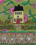 Ewe And Ewe EWE-170 Spring Cottage@Lisa Kaus 8 x 10 18 Mesh