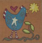 Ewe And Ewe EWE-202 Yankee Doodle Doo@Patti Connor  8 x 8 18 Meshn