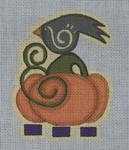 Ewe And Ewe EWE-205 Autumn Crow@Patti Connor 4 1/2 x 5 1/4 18 Meshn