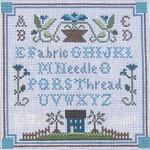Ewe And Ewe EWE-448 Necessities Sample@Little House Needleworks 7x7 13 Mesh