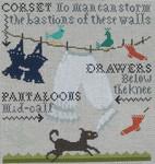 Ewe And Ewe EWE-461 Pantaloons@Carriage House Samplings 9 1/4 x 10 13 Mesh