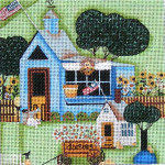 Ewe And Ewe EWE-468 Blue Shop@Blakely Wilson  6 x 6 18 Mesh