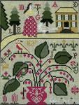 Ewe And Ewe EWE-239 Miss Lila's House@Carriage House Samplings 7 1/2 x 10 13M