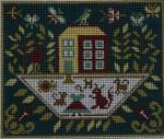 Ewe And Ewe EWE-253 Farmers Wife@Carriage House Samplings  8 1/4 x 7 13M