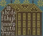 Ewe And Ewe EWE-255 Big Brown House@Carriiage House  Samplings 6 3/4 x5  5/8 13M