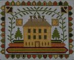 Ewe And Ewe EWE-256 Autumn Blessings@Carriage House Samplings 7 1/4 x 5 7/8 13M