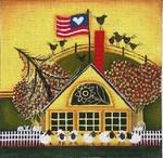 Ewe And Ewe EWE-289 Wilson School House@Blakely Wilson 6 x 6  18M