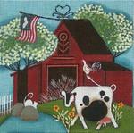 Ewe And Ewe EWE-291 Red Barn@Blakely Wilson 6 x 6 18M