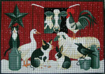 Ewe And Ewe EWE-316 Winter Barn Scene@Stephanie Stoufrer/Ruth Levison Designs