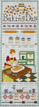 Ewe And Ewe EWE-332 Baking Day@Lettie Eckberg 6 3/4 x 18 1/4 13 Mesh n