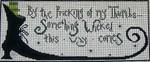 Ewe And Ewe EWE-344 Something Wicked@Lori Markovic 13 x 5 1/4 13 Mesh