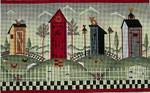 Ewe And Ewe EWE-354 Outhouses@Karen Cruden 12 x 7 1/2 18 Mesh