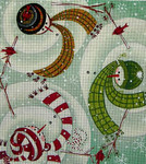 Ewe And Ewe EWE-355 Warm Greetings@Karen Cruden 10 x 11 18 Mesh