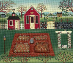 Ewe And Ewe EWE-358 ln the Garden@Karen Cruden 12 x 10 1/4