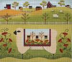 Ewe And Ewe EWE-359 Sheep Quilt@Karen Cruden 12x10 18 Mesh