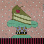 Ewe And Ewe EWE-383KB Slice Of Cake 6 3/4 x 6 3/4 18 Mesh