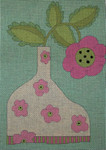 Ewe And Ewe EWE-374KB 4KB Flower in Flower Vase 8 x 11 1/4 13 Mesh