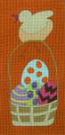 Ewe And Ewe EWE-378KB Chick on Basket 5 3/4 x 11 7/8 18 Mesh