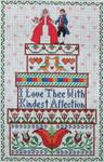 Ewe And Ewe EWE-393 Brides In Boxes@Lettie Eckberg 5 3/4 x 8 7/8 18 Mesh
