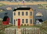 Ewe And Ewe EWE-410 House Wrth Ships@Karen Cruden 12 x 8 3/4 18 Mesh