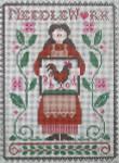 Ewe And Ewe EWE-426 My Needlework@Little House Needleworks 6 3/4 x 9 1/4 13 Mesh
