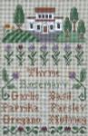 Ewe And Ewe EWE-427 Gourmet Garden@Little House Needleworks 5 1/2 x 9 3/8 13 Mesh