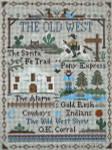 Ewe And Ewe EWE-429 The Old West@Little House Needleworks 7 1/2 x 10 1/4 18 Mesh