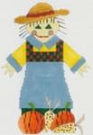 DENISE DeRUSHA DESIGNS DD-140 Mrs Scarecrow 9x11 18 Mesh