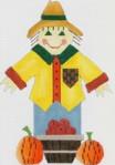 DENISE DeRUSHA DESIGNS DD-141 Mr Scarecrow 9x11 18 Mesh