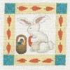 DENISE DeRUSHA DESIGNS DD-166 Rabbit 8 x 8 18 Mesh